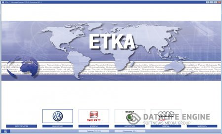 ETKA 7.3+7.4 (1007) International+Germany 03.2014 + Хардлок x64 + база винов 1107397 шт.